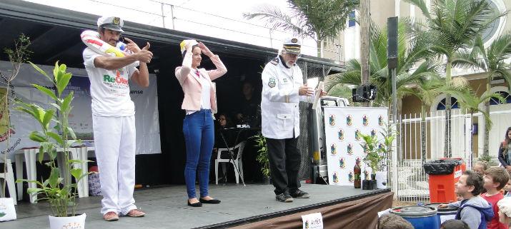 ReÓleo participa de atividades de conscientização ambiental da 1º Câmara Sustentável de Biguaçu