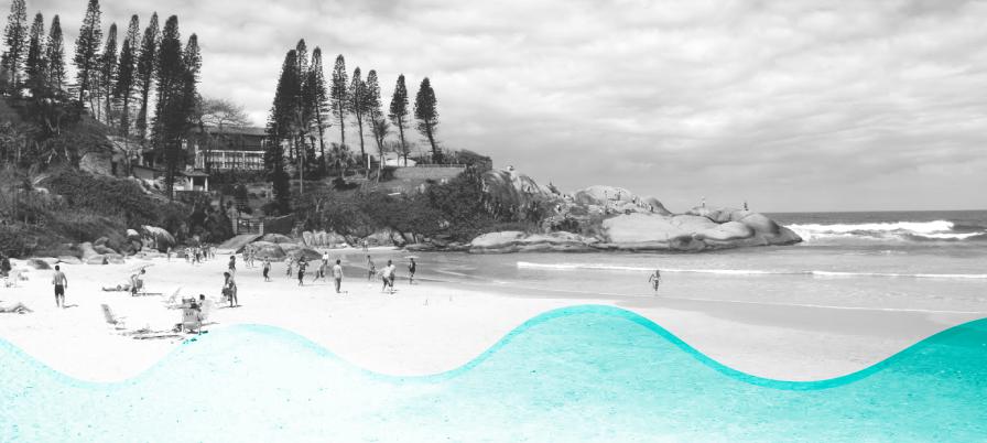 Praia da Joaquina recebe mutirão de limpeza da ACIF neste sábado (29/07)