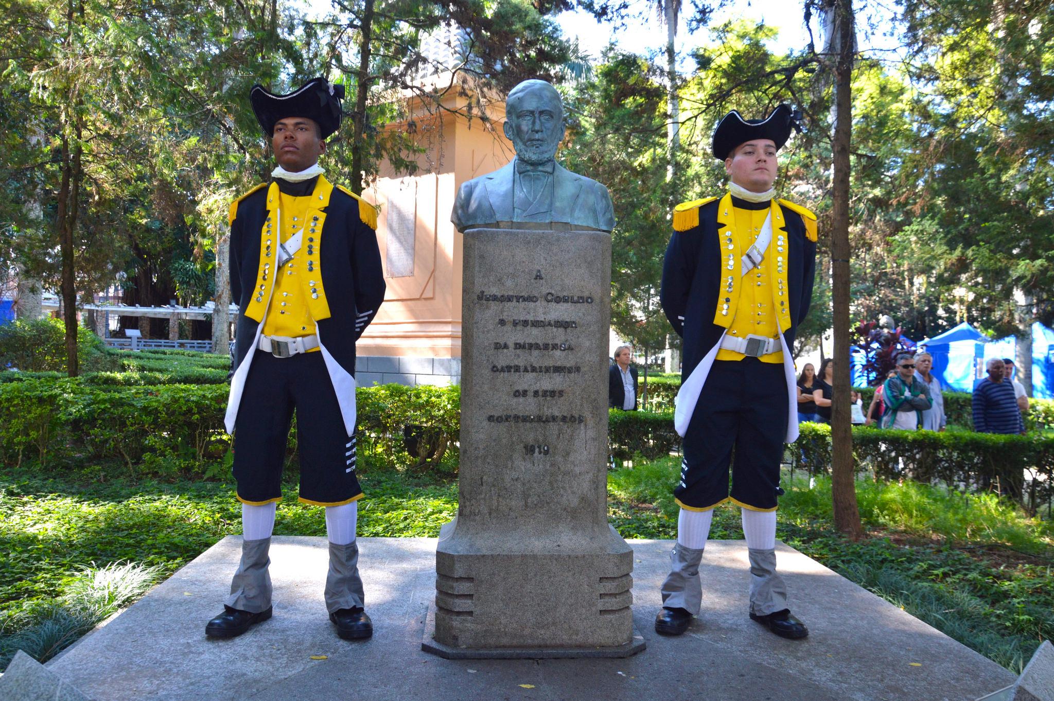 Entidades celebram 186 anos da Imprensa de Santa Catarina