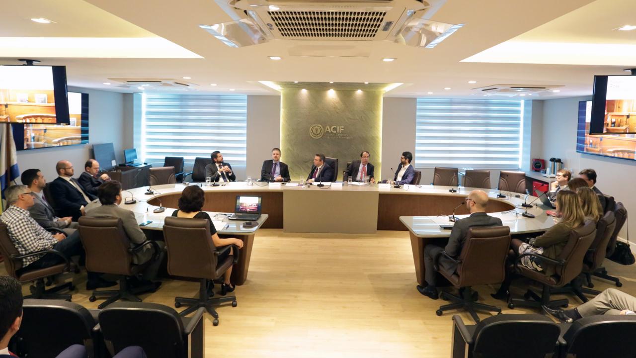 Câmara de Mediação e Arbitragem da ACIF inicia troca de conhecimento
