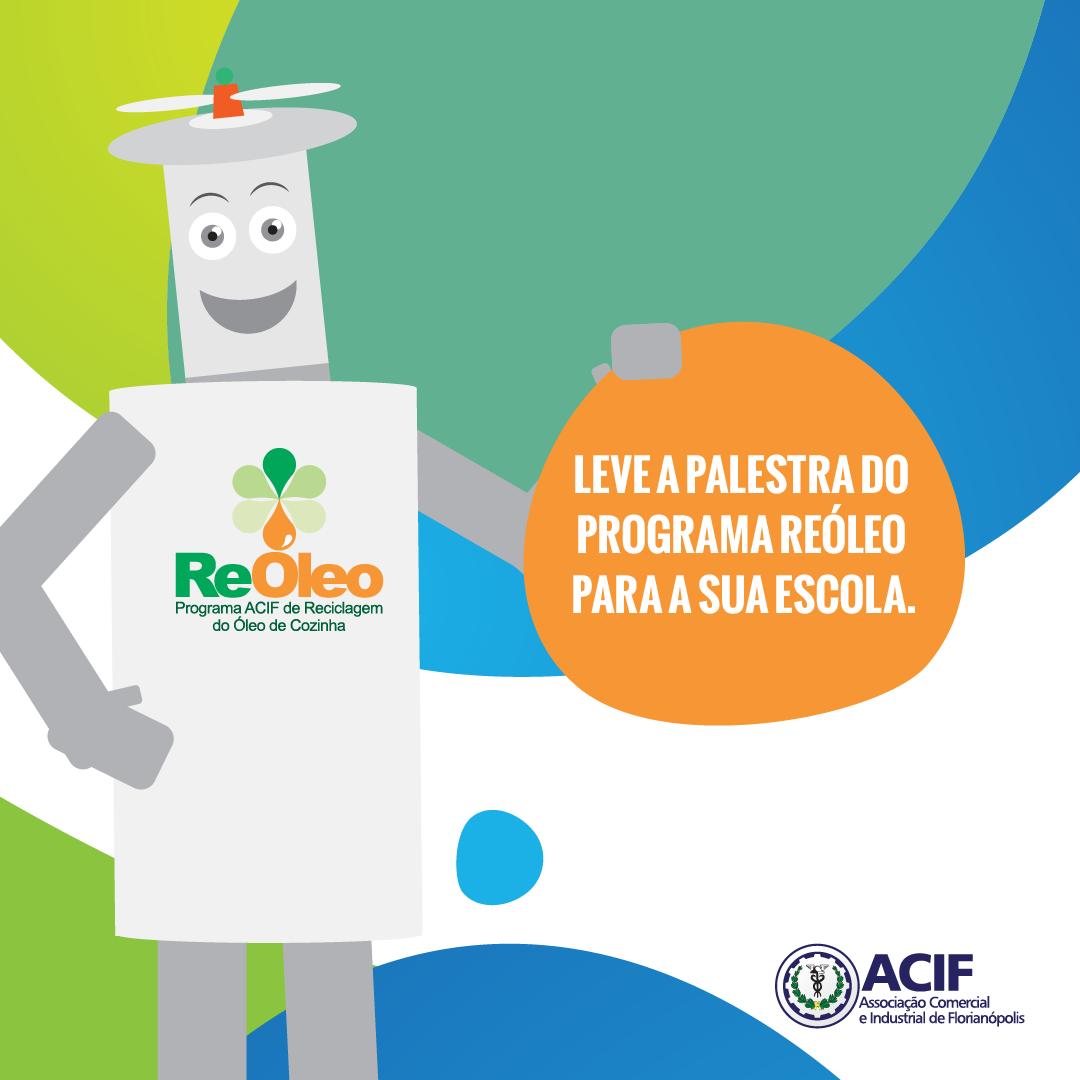 Palestras de Educação Ambiental do Programa Reóleo 2019