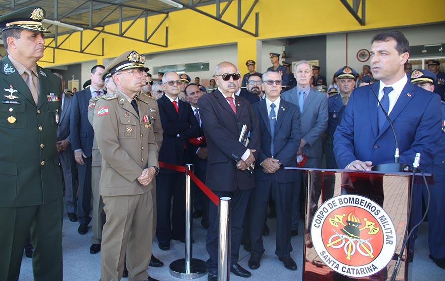 Corpo de Bombeiros Militar de Santa Catarina tem novo Comandante
