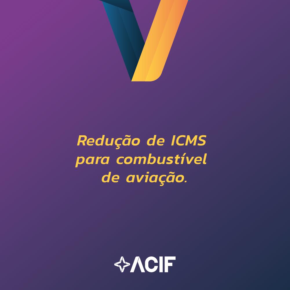 Redução de ICMS para combustível de aviação