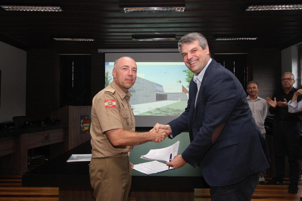 Empresários da Capital viabilizam construção  de 21º Batalhão de Polícia Militar