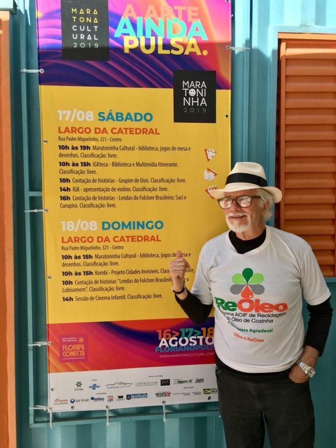 Programa ReÓleo é Destaque da Maratoninha Cultural dentro do Floripa Conecta