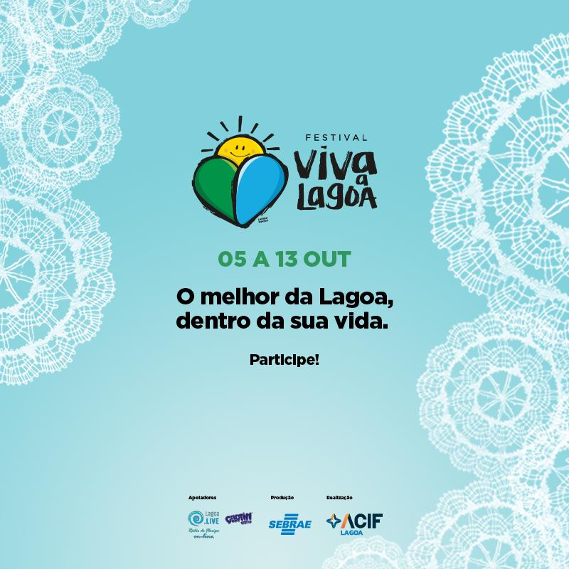 Festival Viva Lagoa de 05 a 13 de outubro
