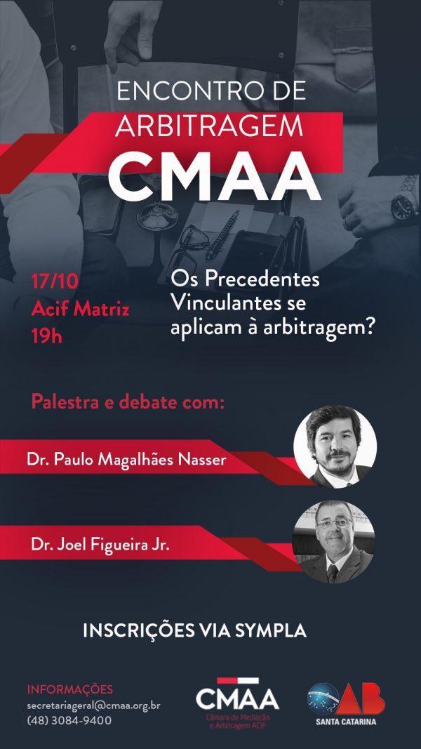Encontro de Arbitragem CMAA