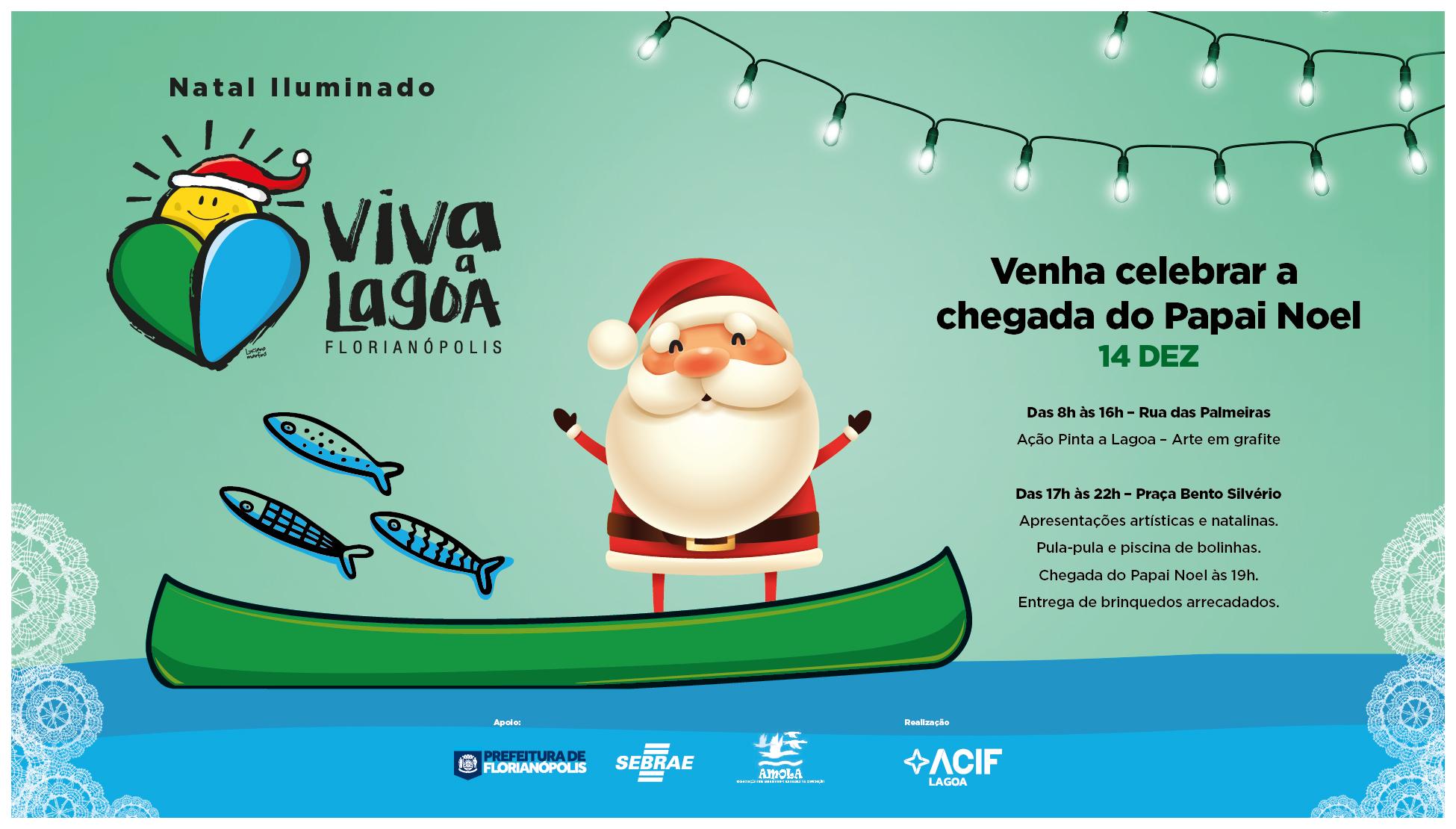 Natal Iluminado Viva a Lagoa