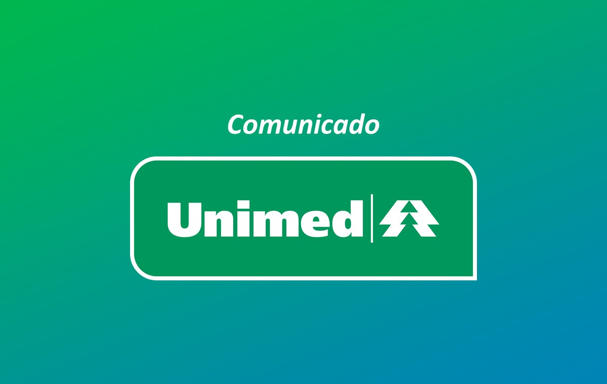 Comunicado sobre as carteirinhas da Unimed