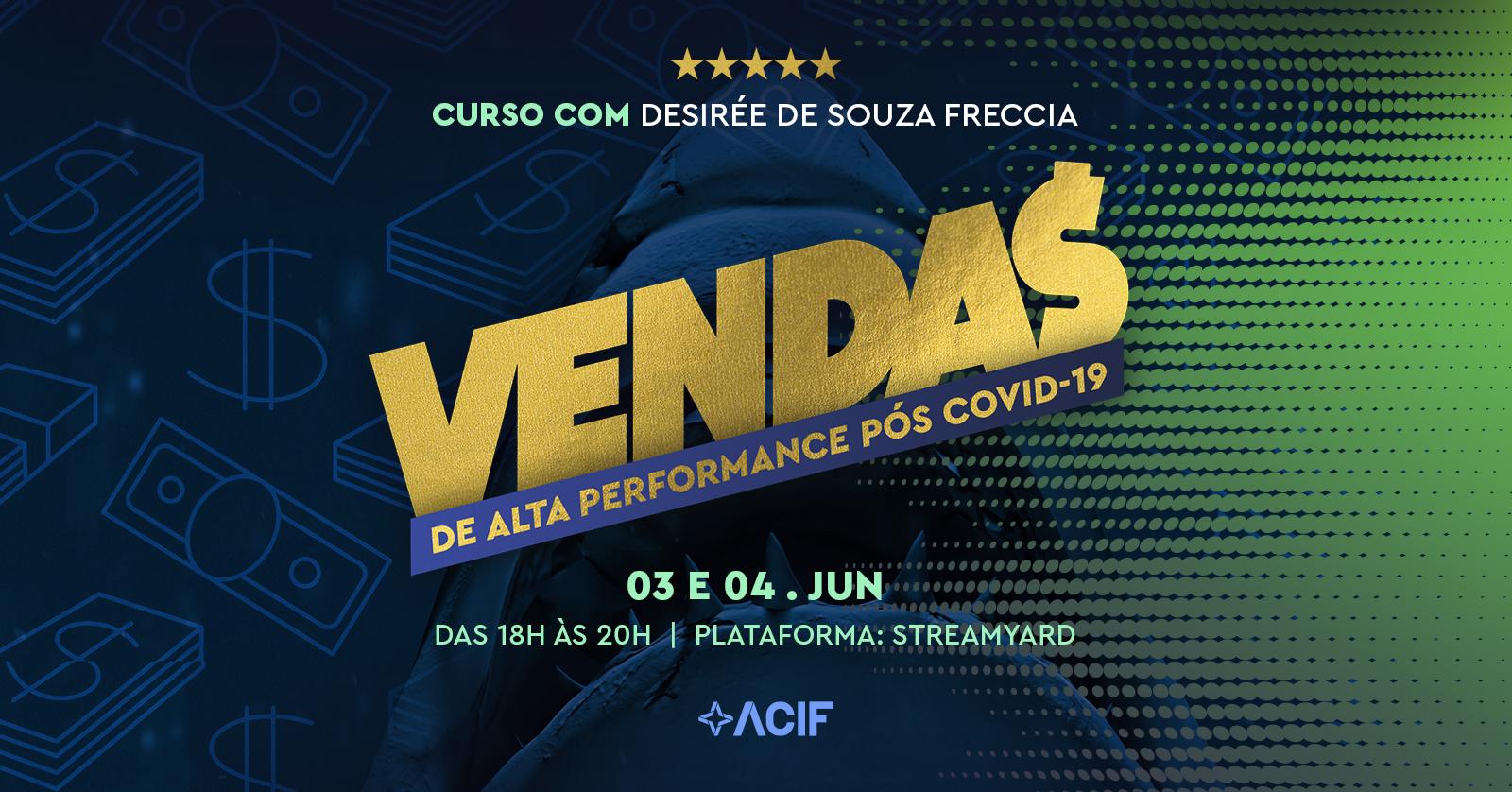 Vendas de Alta Performance Pós Covid-19