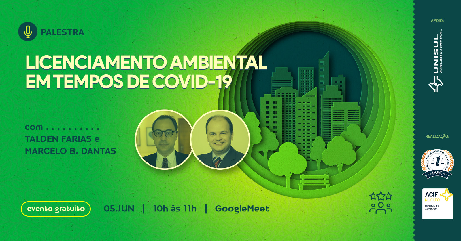 Licenciamento Ambiental em tempos de COVID-19