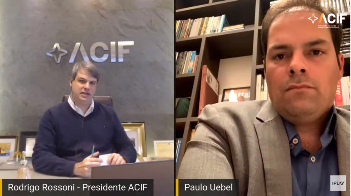 ACIF recebe Paulo Uebel