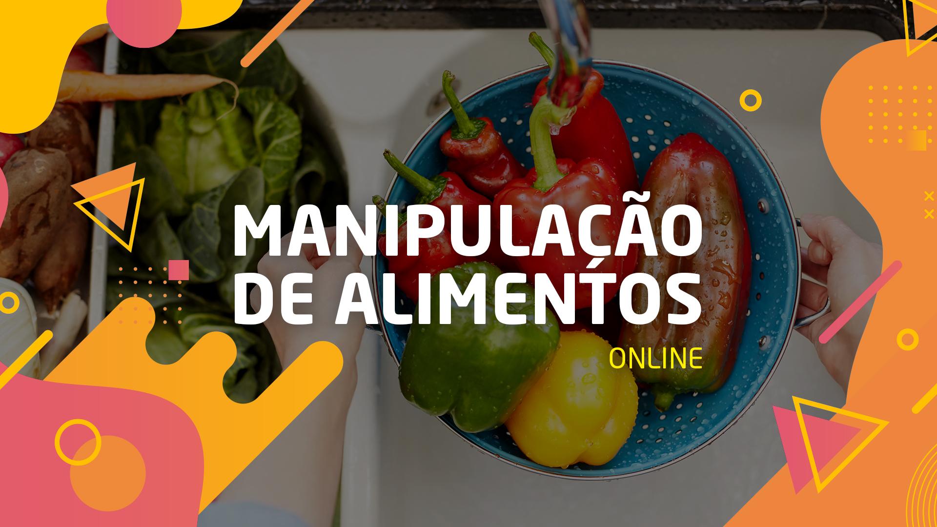 Curso Online Manipulação de Alimentos