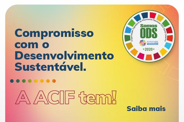 A ACIF é membro signatário do Movimento ODS SC