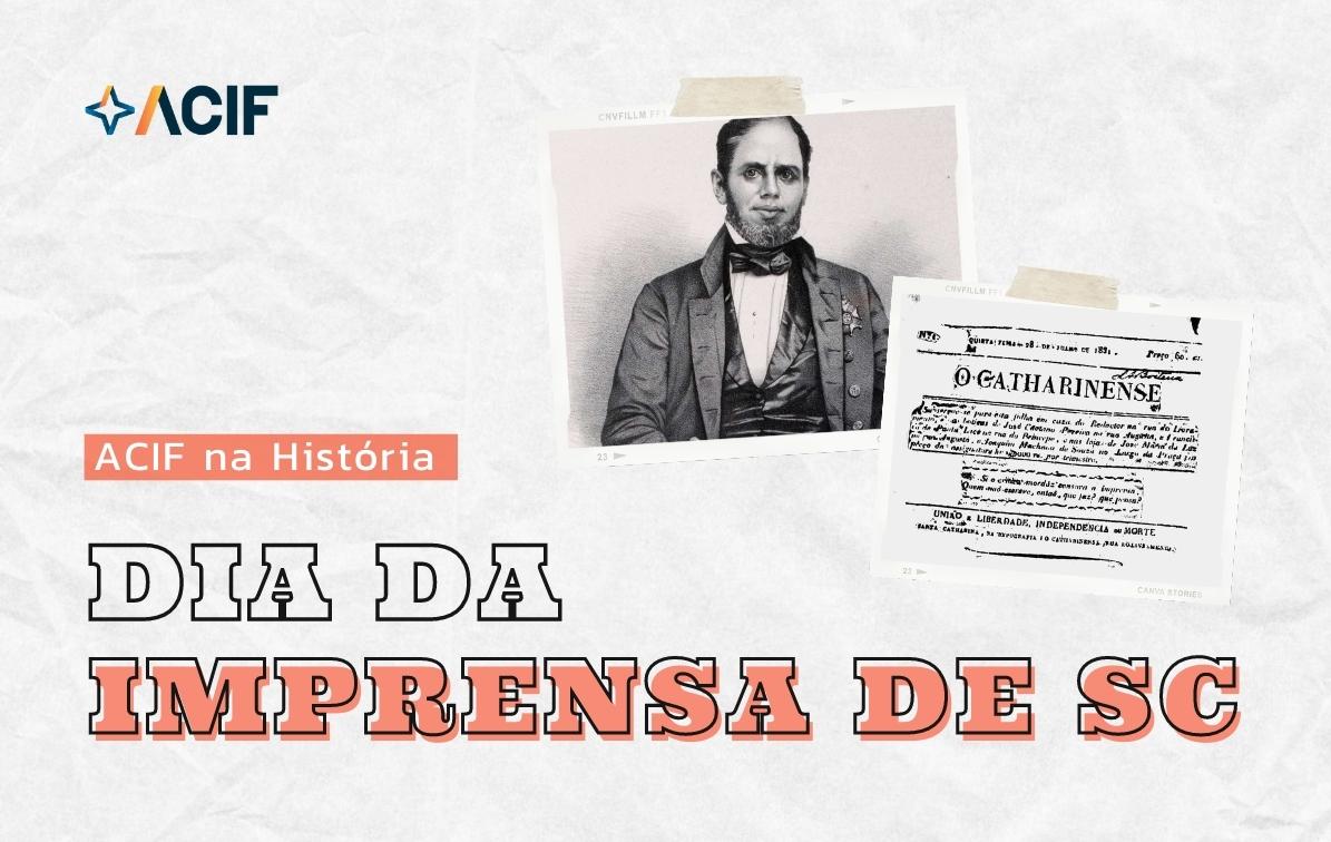 190 anos da Imprensa de Santa Catarina