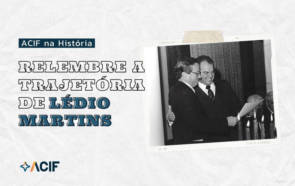 23 de Setembro – 40 anos da morte do presidente da ACIF e Facisc, Lédio Martins